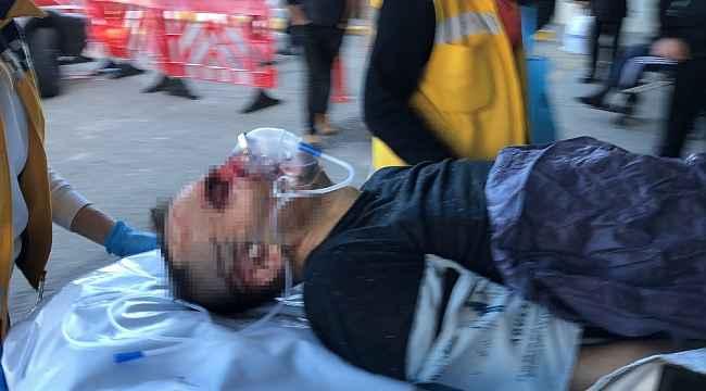 Tartıştıkları vatandaşı önce darp edip sonra pompalı tüfekle yaraladılar