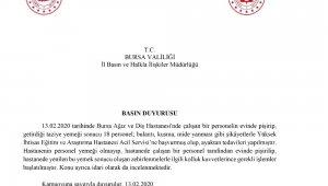 Taziye yemeği 18 sağlık çalışanını zehirledi - Bursa Haberleri
