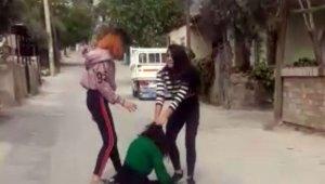 Terör estiren kızlar gözaltına alındı, yine serbest
