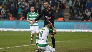 TFF 1. Lig: Bursaspor: 0 - Eskişehirspor: 1 - Bursa Haberleri