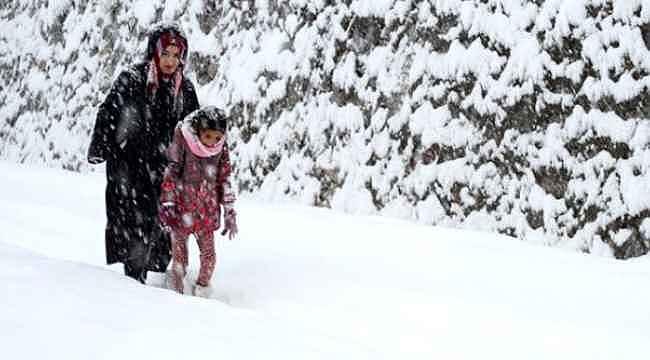 Trabzon'da okullar 2 gün tatil