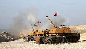 TSK, Esed rejimine ait 21 hedefi vurdu!