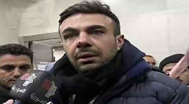 Türk askerine hakaret eden Esed rejimi muhabirinin aracı füzeyle vuruldu