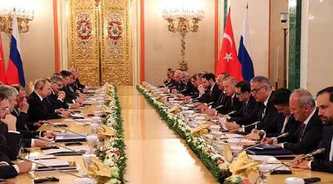 Türk ve Rus heyetleri İdlib için görüşüyor