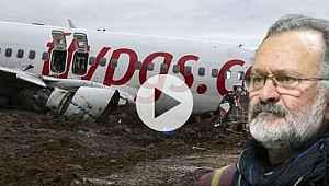 Uçak kazasını anlatmak yerine siyaset yapan pilotun, teröristlere 'gerilla' dediği ortaya çıktı