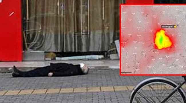 Uydu görüntüsü tüyler ürpertti.. Wuhan'ın üzerine ceset bulutu çöktü
