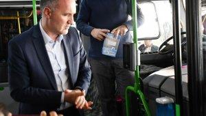 116 toplu taşıma aracına dezenfekten konuldu