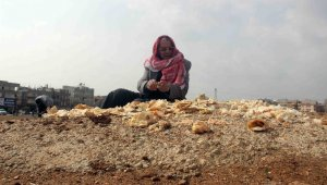 27 yıldır çöpten topladığı ekmeklerle kuşları besliyor