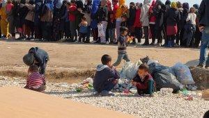 8 bin mültecinin tampon bölgede 18 gündür bekleyişi sürüyor