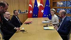 AB ile gergin zirve... Yetkililere kızan Erdoğan toplantıyı terk etti