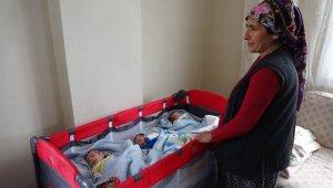 Adanalı anne üçüzleri için yardım bekliyor
