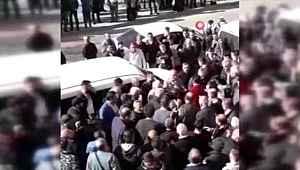 Ankara'da taciz iddiasına meydana dayağı
