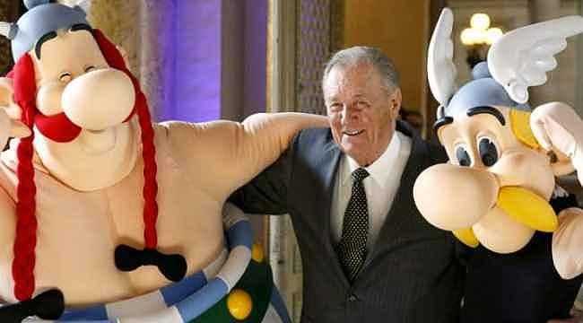 Asteriks'in çizeri Albert Uderzo, 92 yaşında öldü