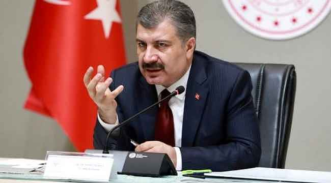 Bakan Koca, Erdoğan'ın videosunu paylaşarak duyurdu,
