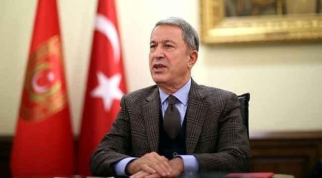 """Bakanı Akar'dan """"İdlib"""" açıklaması,"""