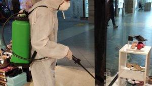 Basın Kültür Sarayı dezenfekte edildi - Bursa Haberleri