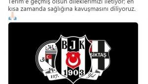 Beşiktaş'tan Fatih Terim'e geçmiş olsun mesajı