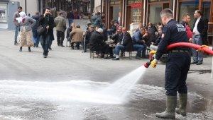 Bitlis'te korona virüsüne Van Gölü suyuyla tedbir