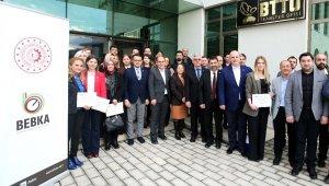 Bursa Teknik Üniversitesi'nde sertifika heyecanı - Bursa Haberleri