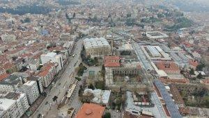 Bursa Ulucami ile UNESCO Dünya Miras listesindeki Tarihi Çarşı ve hanlar havadan görüntülendi - Bursa Haberleri