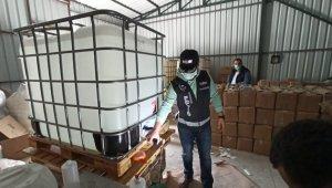 Bursa'da kaçak 1 milyon liralık dezenfektan üreten 5 kişi adli kontrolle serbest - Bursa Haberleri
