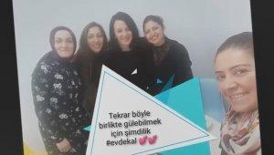 Bursa'da öğretmenlerden öğrencilere 'Evde Kal' çağrısı - Bursa Haberleri