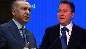 Cumhurbaşkanı Erdoğan'dan parti kuran Babacan'a gönderme