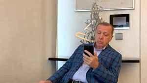 Cumhurbaşkanı Erdoğan, Granada'da okunan ezanı dinledi