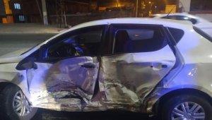 Diyarbakır'da trafik kazası: 1'i ağır 8 yaralı