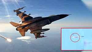 Esed'in 2 jetini de aynı Türk F-16'sı radarını kapatıp vurdu