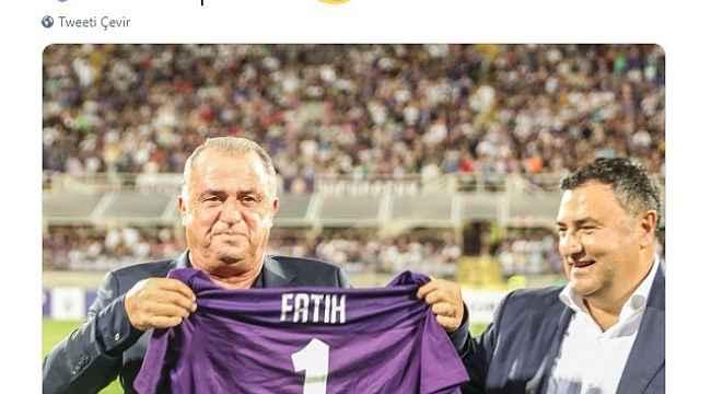 Fiorentina'dan Fatih Terim'e destek mesajı