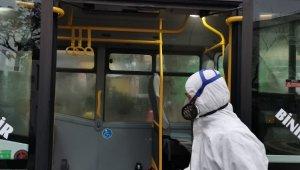 Gemlik otobüslerinde korona virüse karşı ilaçlama - Bursa Haberleri