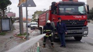Gemlik sokakları yıkanıyor - Bursa Haberleri