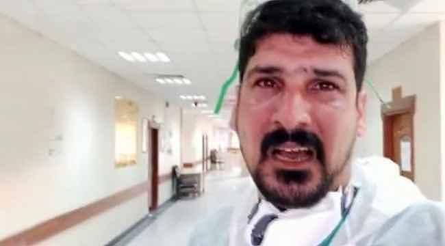 Gördükleri karşısında gözyaşlarını tutamayan doktor: