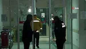 Hastanenin karantina servisine alınmayan şahıs dehşet saçtı