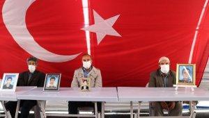 HDP önündeki ailelerin evlat nöbeti 211'inci gününde