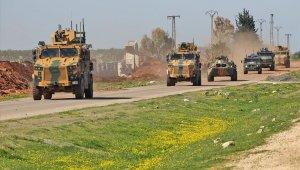 İdlib'de 2'nci Türk-Rus kara devriyesi icra edildi