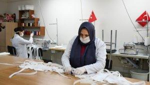 İnegöl Belediyesi maske üretimine başladı - Bursa Haberleri