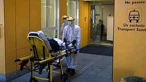 İspanya'da son 24 saatte 812 can kaybı yaşandı