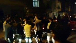 İstanbul'da korona virüse rağmen toplanıp asker uğurladılar