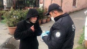 İstanbul'da yasağa uymayan yaşlılar ilginç görüntüler oluşturdu