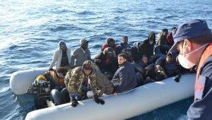 İzmir'de 34 sığınmacı kurtarıldı