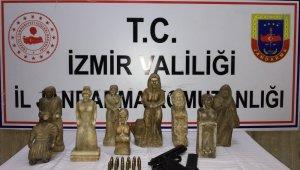 İzmir'de tarihi eser kaçakçılarına operasyon: 3 gözaltı
