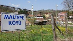 Karantinada olan köye ilaç ve erzaklar dışarıdan getiriliyor