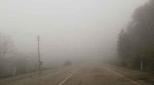 Keles'te yoğun sis - Bursa Haberleri