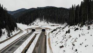 Kış aylarında geçilemeyen Ilgaz Dağı, artık tünelle aşılıyor