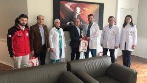 Kızılay'dan hasta ve yakınlarına hijyen seti - Bursa Haberleri