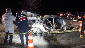Konya'da feci trafik kazası: 4 ölü, 4 yaralı