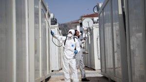 Korona virüs tedbirleri kapsamında konteyner kentlere kısıtlama getirildi
