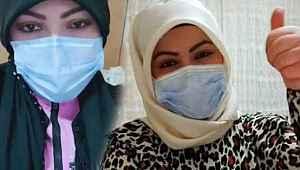 Koronavirüse yakalanan İlknur hemşire, hastalığı yendi